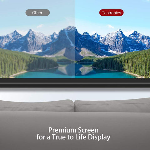 Image of Projector Screen 4K HD 100 Inch 16:9 with Stand