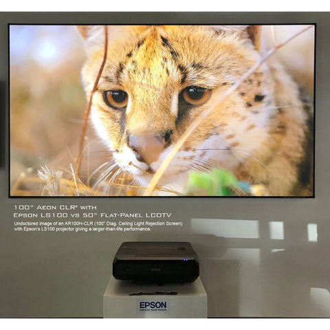 Image of Elite Screens Aeon CLR® - Short Throw Projector Screen