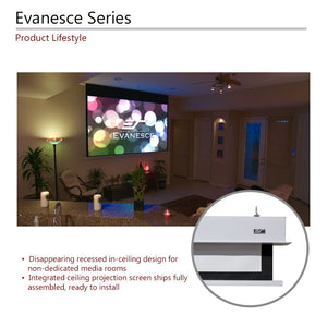 Elite Screens Evanesce Series AcousticPro UHD - Electric Screens