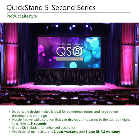 Image of Elite Screens QuickStand 5-Second Series