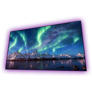 Elunevision Aurora ALR 1.3 Gain Grey NanoEdge Fixed Frame - LED Lights