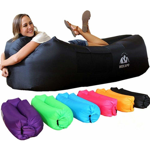 Image of Inflatable Lounge Air Sofa Hammock