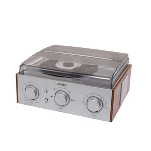 Jensen 3-speed Stereo Turntable With Am-fm Stereo Radio