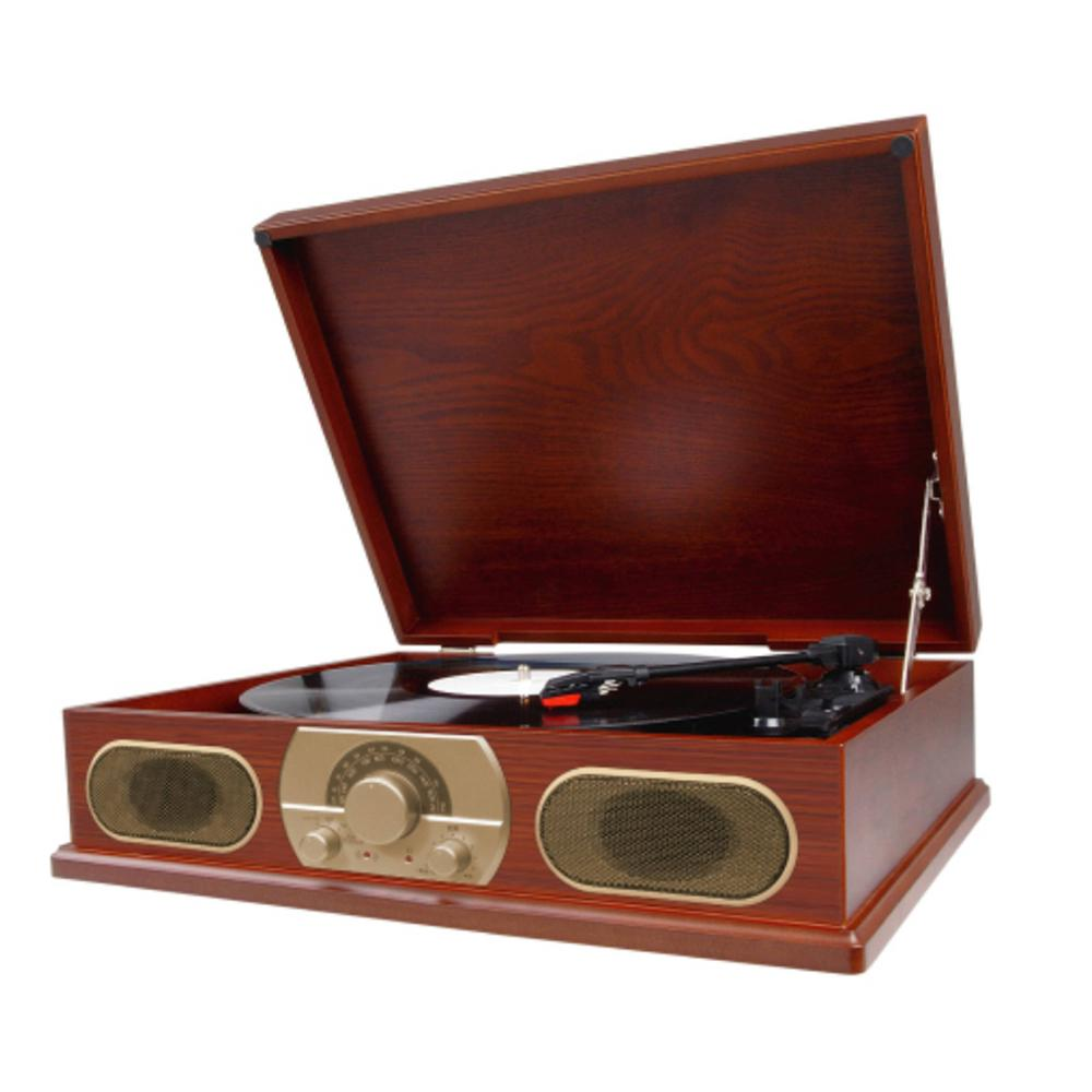 Studebaker  Wooden Turntable With Am-fm Radio