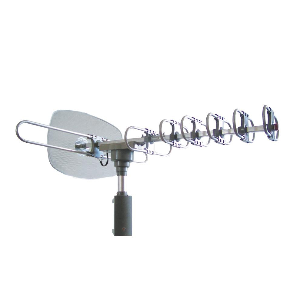 Supersonic 360 Degree Hdtv Digital Amplified Tv Motorized Rotating Antenna
