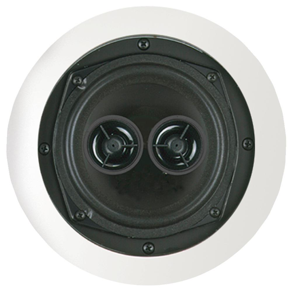 Bic America 75-watt 5.25 Dual Voice-coil Stereo In-ceiling Speaker