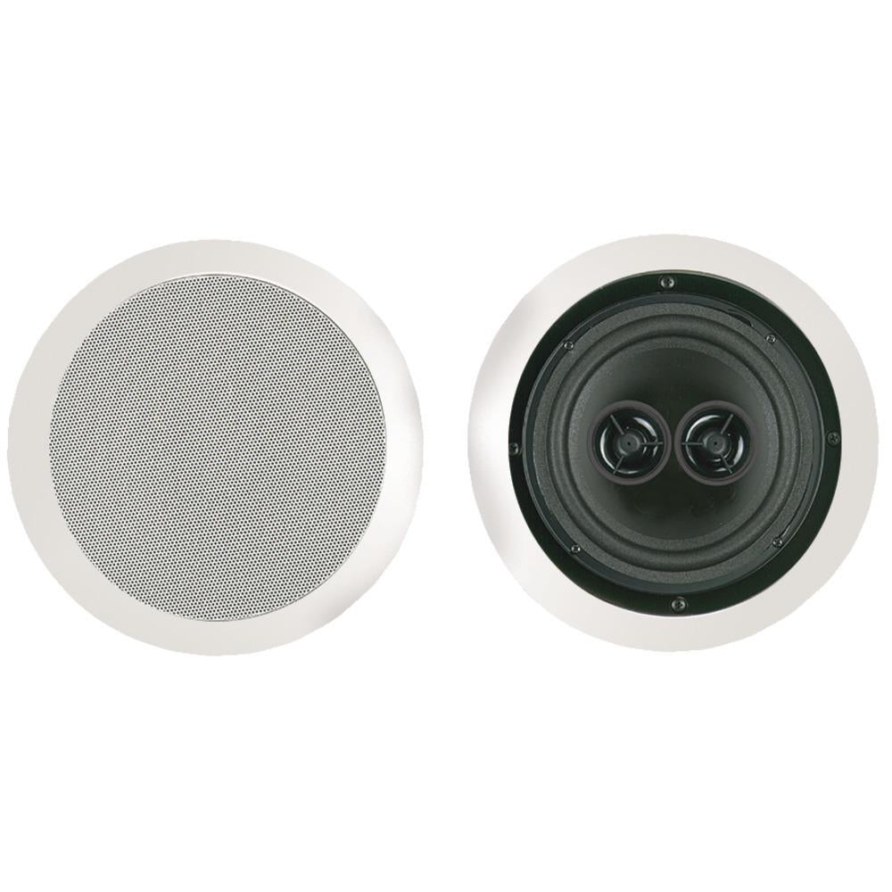 Bic America 100-watt 6.5 Dual Voice-coil Stereo In-ceiling Speaker