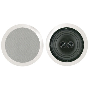 Bic America 125-watt 8 Dual Voice-coil Stereo In-ceiling Speaker