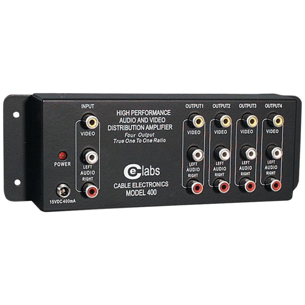 CE Labs Prograde Composite A/V Distribution Amp (4 Output)