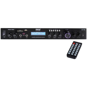 Pyle Home Theater Audio Receiver Sound System With Bluetooth