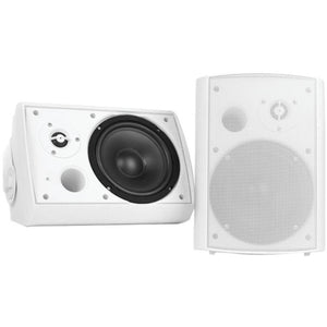 Pyle Home 5.25 Indoor-outdoor Wall-mount Bluetooth Speaker System (white)
