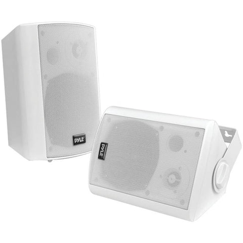 Pyle Home 6.5 Indoor-outdoor Wall-mount Bluetooth Speaker System (white)