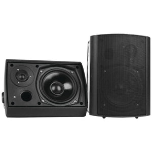Pyle Home 6.5 Indoor-outdoor Wall-mount Bluetooth Speaker System (black)