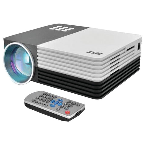 Pyle Home 1080p Hd Digital Multimedia Projector With Up To 120 Display