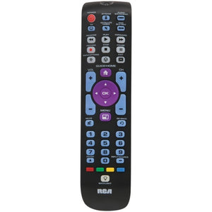 5-device Backlit Universal Remote With Streaming