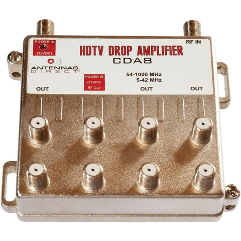 Antennas Direct Output TV/CATV Distribution Amplifier (8 Way)
