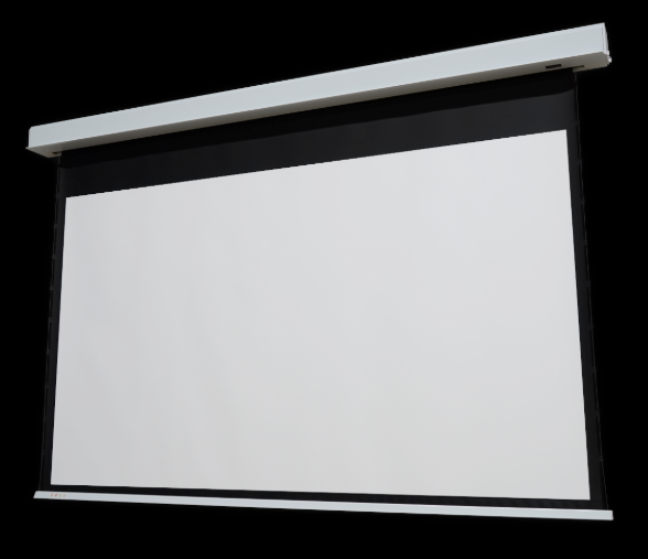 Elunevision Ref Studio 4K In-Ceiling Tab-Tension Motorized - 1.0 Gain