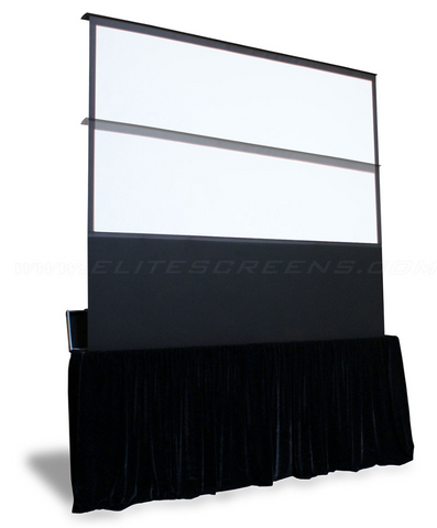 Image of Elite Screens Kestrel Stage B Series - Electronic Screens - Floor Rising