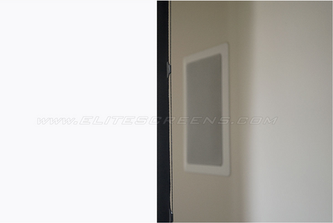 Elite Screens Saker Tab-Tension AcousticPro UHD Series - Wall/Ceiling