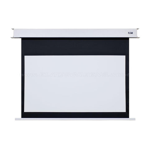 Image of Elite Screens Evanesce B Series - Electric - Recessed/In-Ceiling