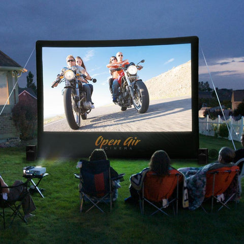 Image of Open Air Cinema Home Screen (16Ft.)