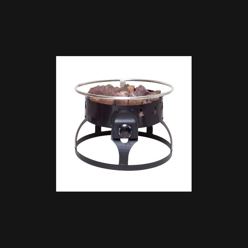 Redwood Portable Gas Fire Pit