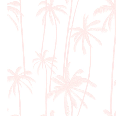 California Palms in Dusty Pink