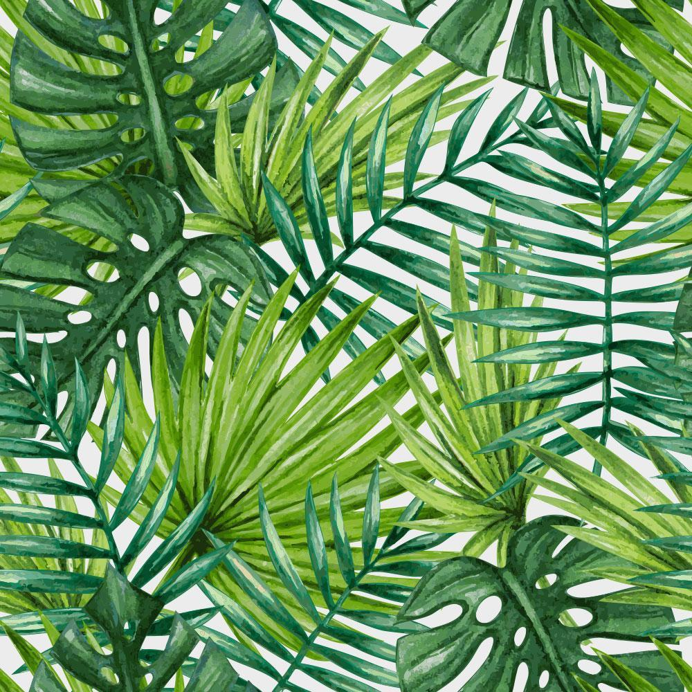 tropical pattern wallpaper  Tropical Forest – Paper Pop