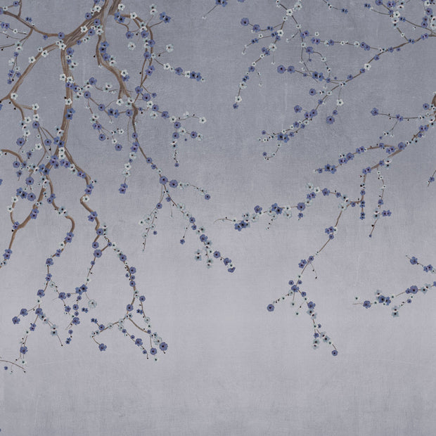 Cherry Blossoms on Indigo