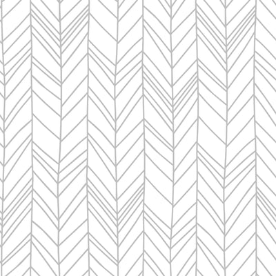 Hand Drawn Herringbone