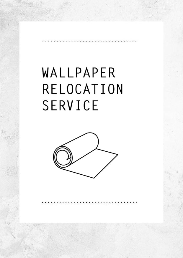 Wallpaper Relocation Service
