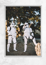 Stormtroopers at Ease