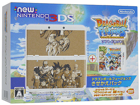 3DS Dragon Ball Fusions Console Pack (Jap)