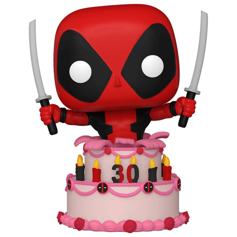 Funko POP! (776) Deadpool 30th Anniversary Deadpool Cake