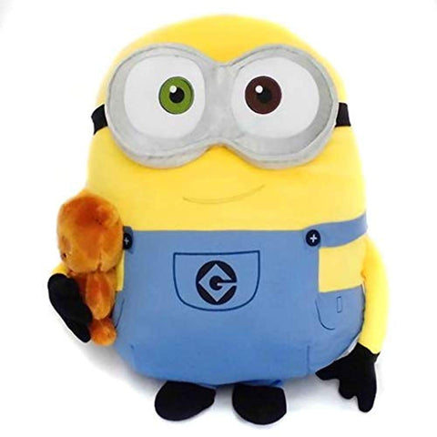 "Minions 17"" Plush - Bob & Teddy Bear"
