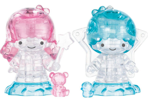 Disney Crystal Gallery ~ Little Twin Stars (41PCS)