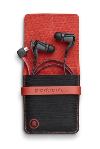 Plantronics BackBeat Go 2 Wireless Hi-Fi Earbud Headphones with Charging Case