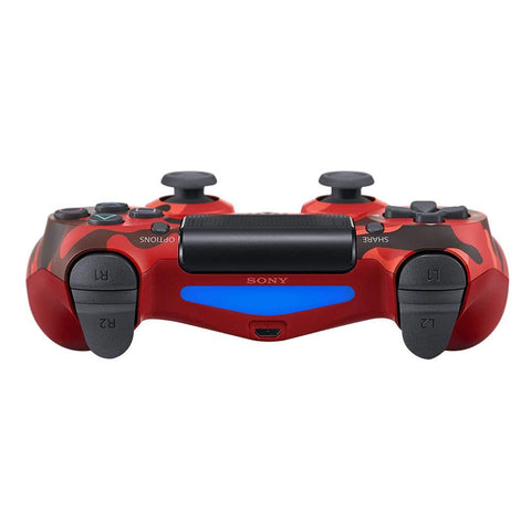 PS4 Dual Shock 4 Red Camouflage