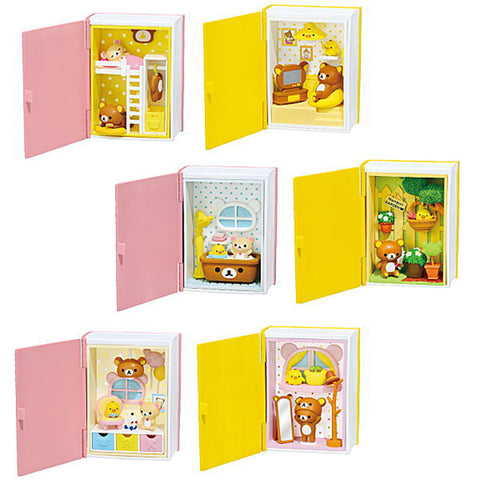 Re-Ment Rilakkuma Happy Little Book (Set of 6)