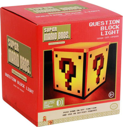 Super Mario Question Block Night Light