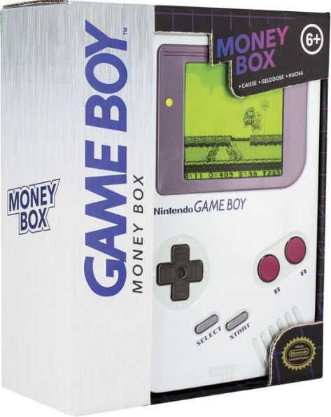 Game Boy Tin Money Box