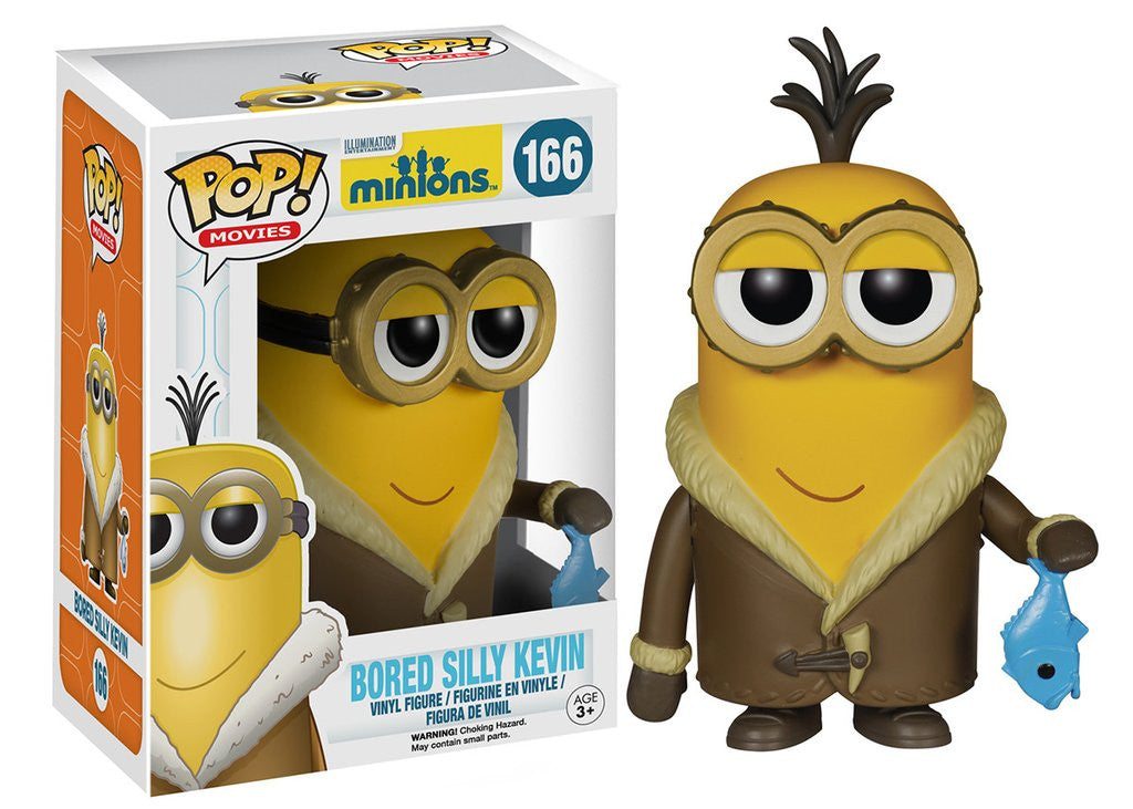 POP Movies: #166 Minions Bored Silly Kevin