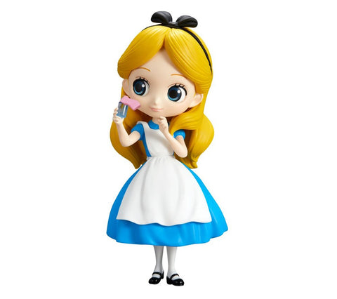Qposket Disney Character Alice Thinking Time (A)