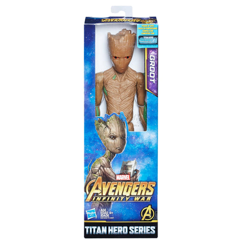 Hasbro Marvel Avengers Infinity War Titan Hero Power Groot