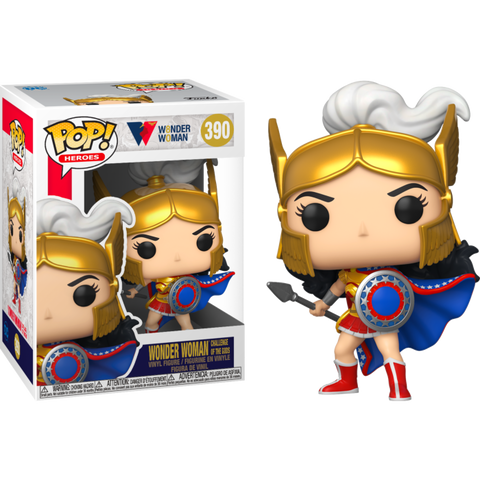 Funko POP! (390) Wonder Woman Challenge Of The Gods