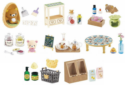 Re-Ment Rilakkuma Natural Life Shop (Set of 8)
