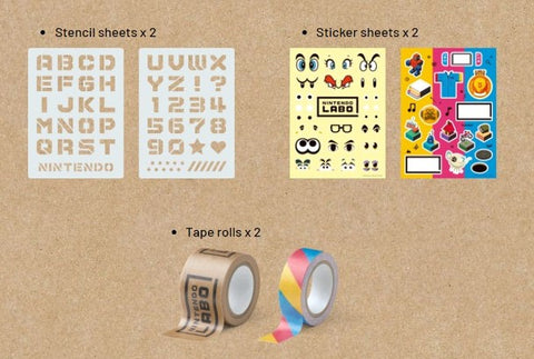 Nintendo Labo Customization Set (US)