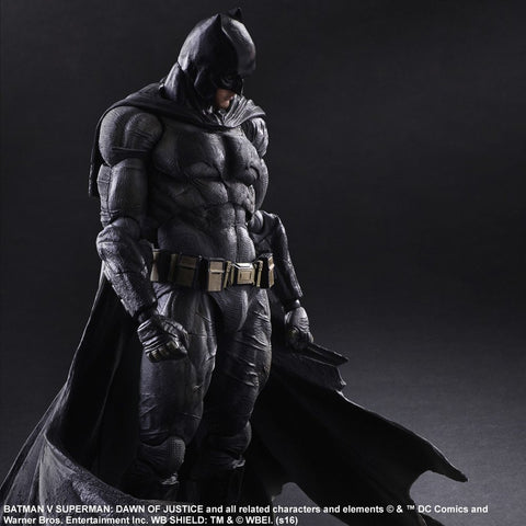 Play Arts Kai Batman vs Superman Movie Dawn of Justice Batman Scale Complete Figure