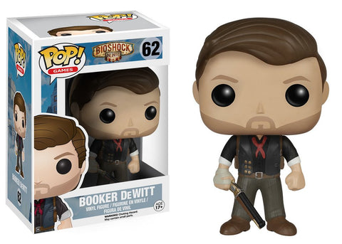 POP Games:#62 Bioshock Booker Dewitt