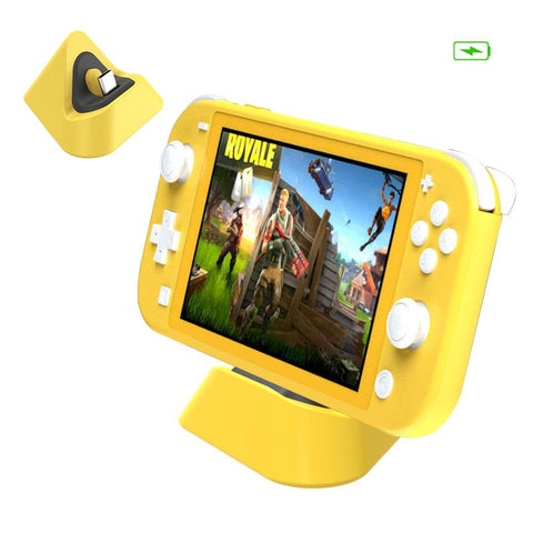 Dobe Nintendo Switch Lite Charging Dock TNS-19062 Yellow
